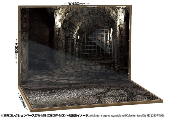 画像1: 箱庭技研 ジオラマシート DSDW-F004 地下牢セットA