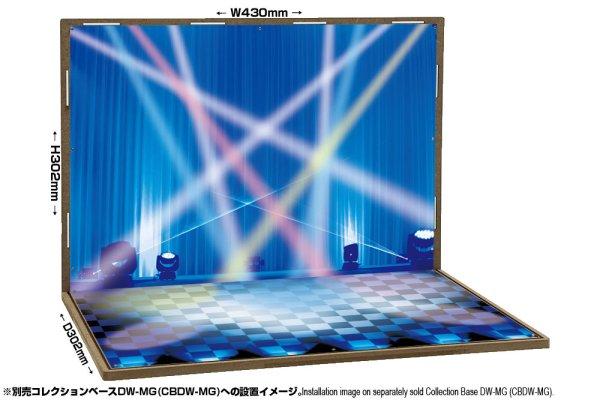 画像1: 箱庭技研 ジオラマシート DSDW-F006 ステージセットA