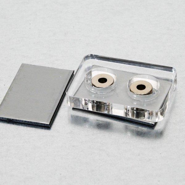 画像2: 箱庭技研 OPTION マグネット(Ring) 外径8.0mm×内径3.1mm/5mm高さ (2個入)