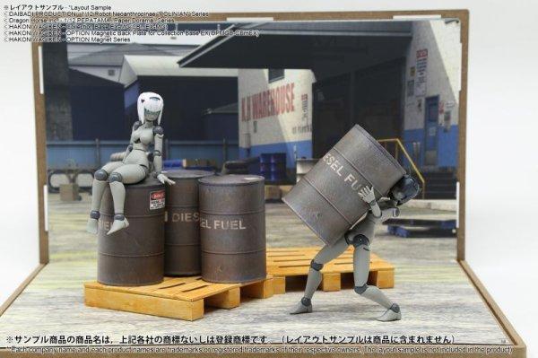 画像2: 箱庭技研 ジオラマシート DSmEX-F015 倉庫セットA