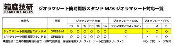 画像4: 箱庭技研 ジオラマシート 簡易撮影スタンドM 【同梱不可】