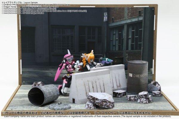 画像2: 箱庭技研 ジオラマシート DSmEX-F010 スラムセットA