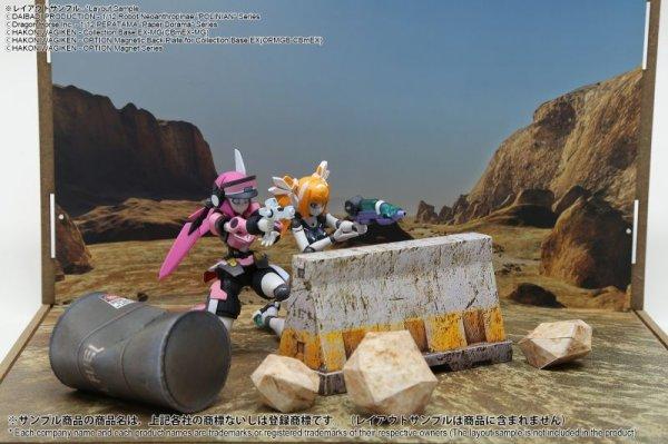 画像2: 箱庭技研 ジオラマシート DSmEX-F014 渓谷セットA