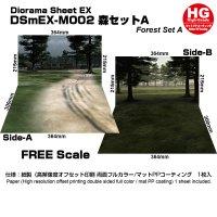 箱庭技研 ジオラマシート DSmEX-M002 森セットA